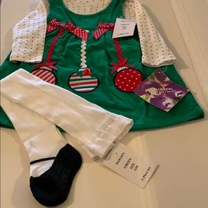 New! 3-piece Christmas outfit AVAILABLE 10/19